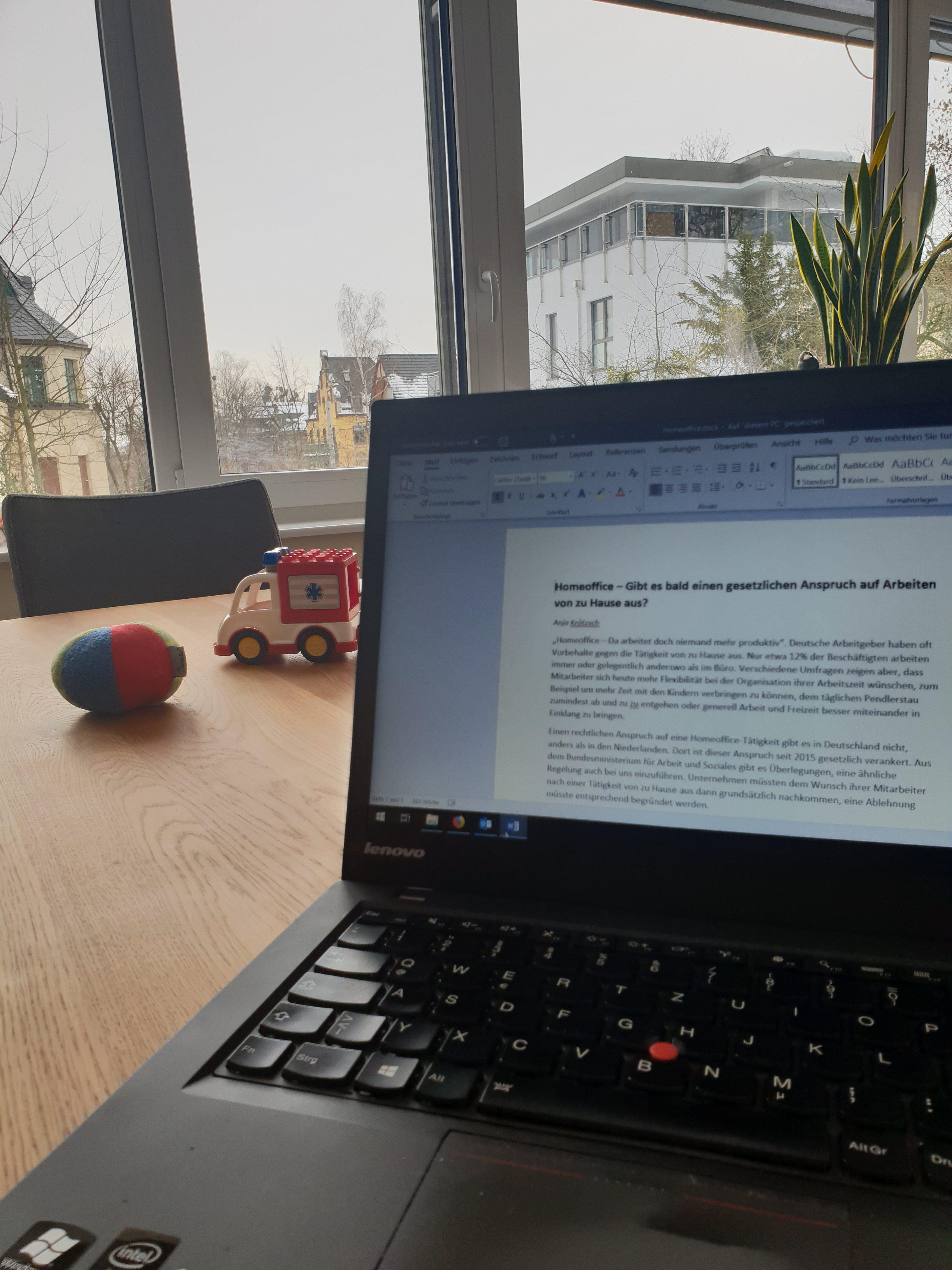 Homeoffice – Gibt es bald einen gesetzlichen Anspruch auf Arbeiten von zu Hause aus?